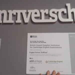 Школа Enriver сотрудничает с международной организацией British Council!